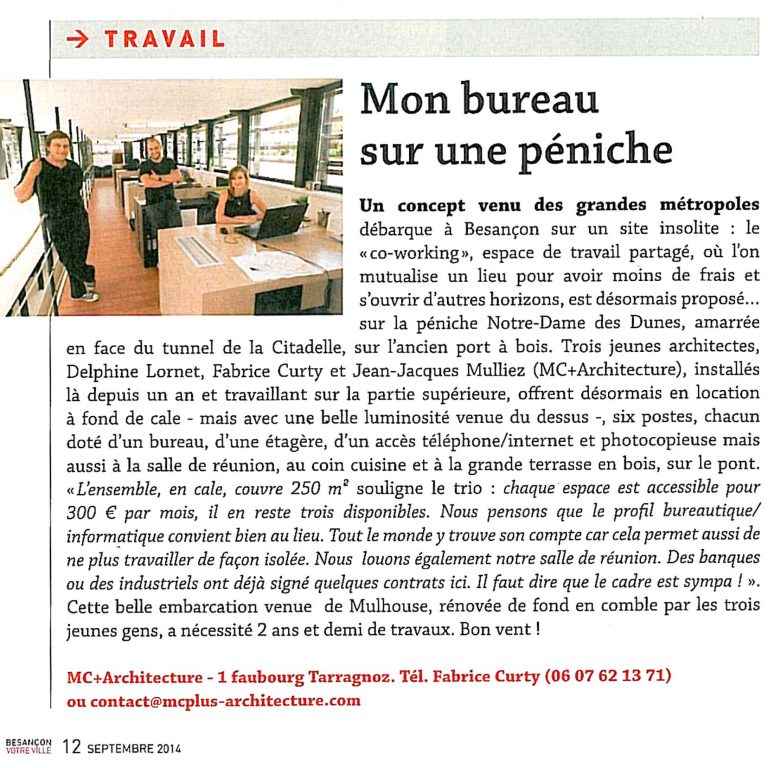 BVV- Article septembre 2014