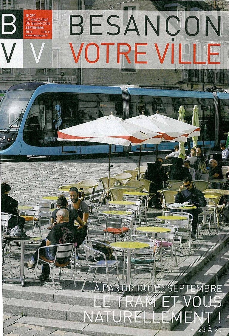 BVV - couverture septembre 2014