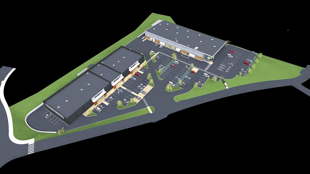 Cellules commerciales & supermarché à Baume-les- Dames