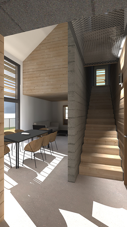 Maison individuelle à Vuillecin