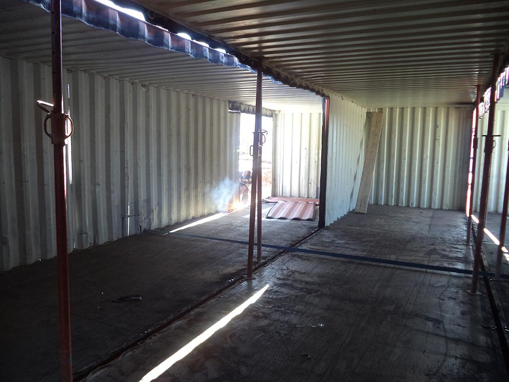 Bureaux containers à Besançon