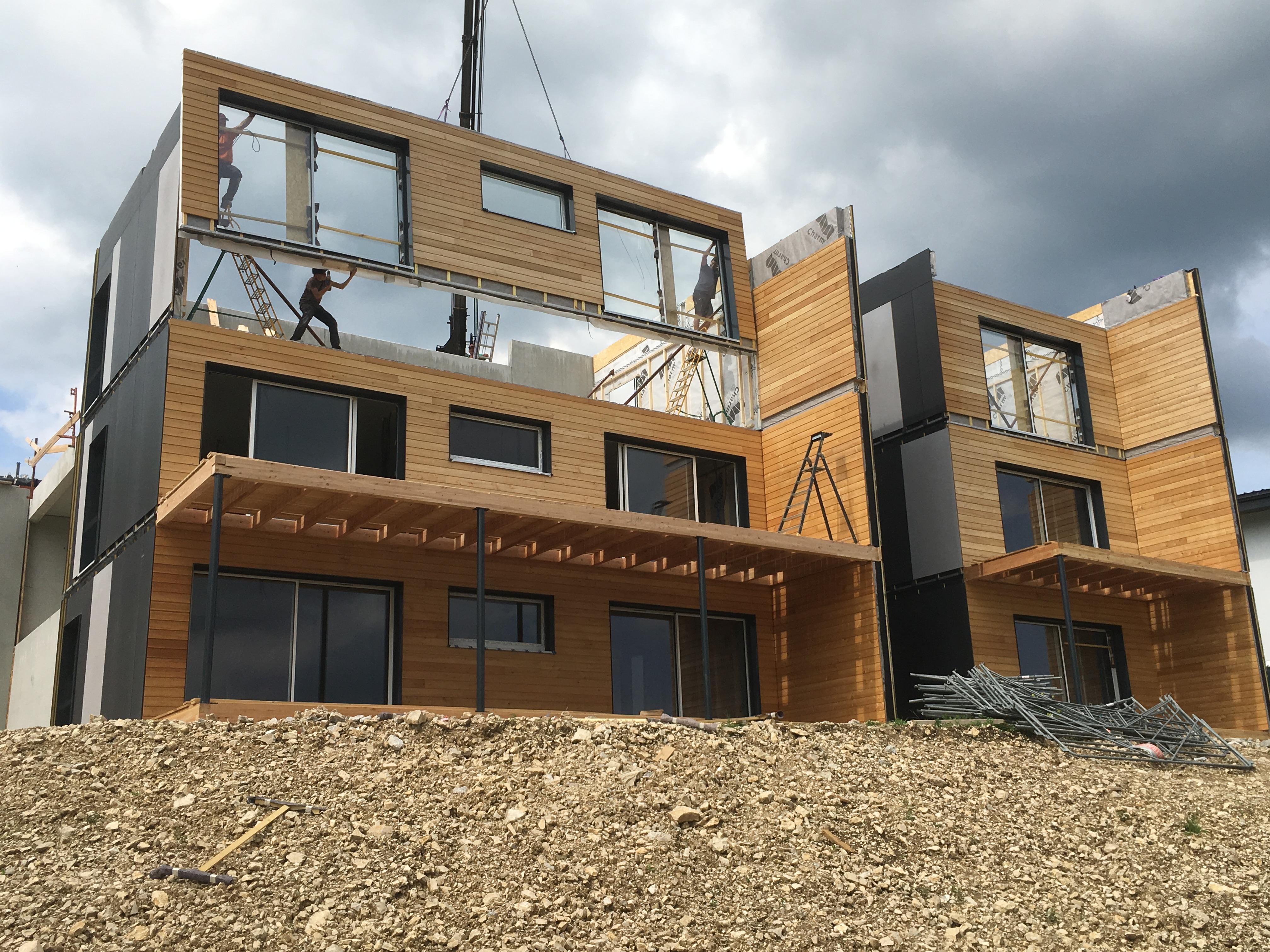 Logements collectifs à Villers-Le- Lac